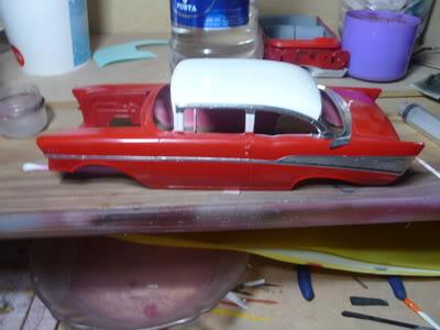 Chevy Belair 57 Revell 1/25 P1020378