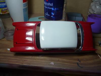 Chevy Belair 57 Revell 1/25 P1020381