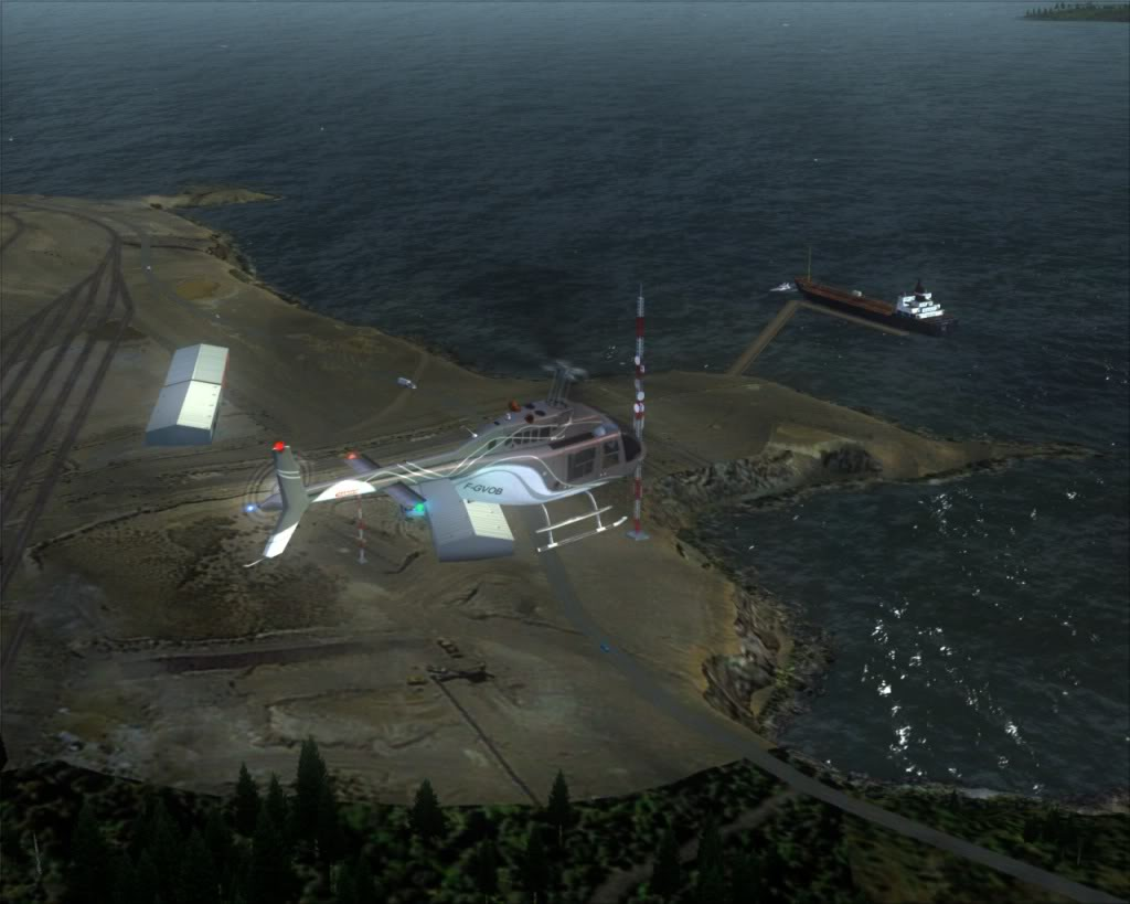 Terrace para Seal Cove Heliport 12-25