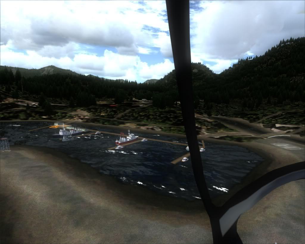 Sandspit para Hartley Bay 9-29