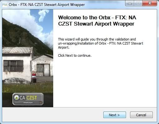 Orbx FTX CZST Stewart Airport 1.0 (Review de Rodrigo Sotto-Maior) Instalao
