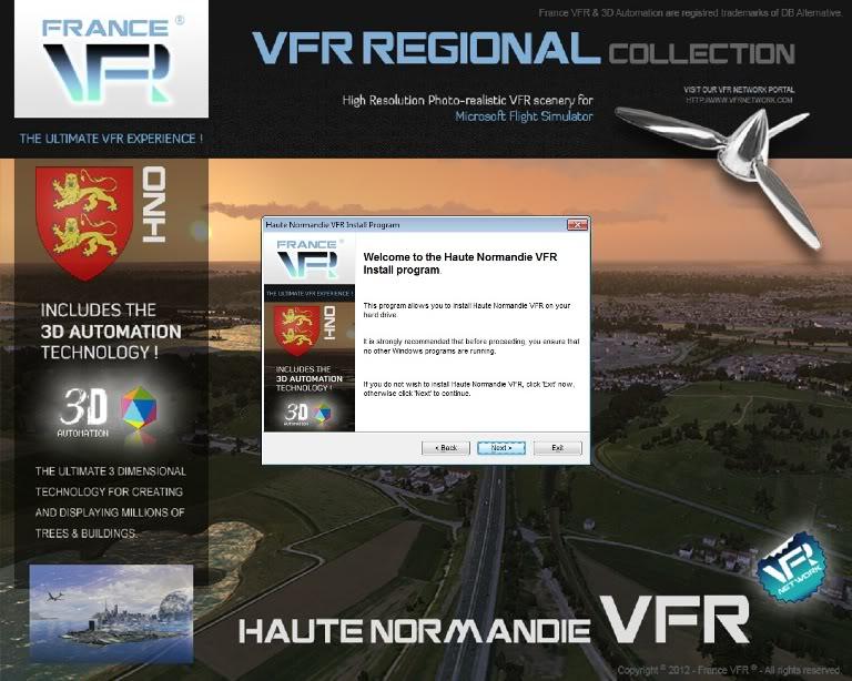 Haute Normandie VFR, da FranceVFR (Review de Rodrigo Sotto-Maior) Instalao3-1