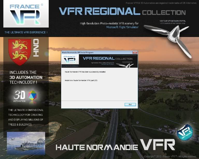 Haute Normandie VFR, da FranceVFR (Review de Rodrigo Sotto-Maior) Instalao7-2