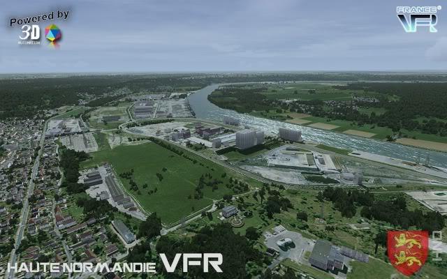 Haute Normandie VFR, da FranceVFR (Review de Rodrigo Sotto-Maior) Logo