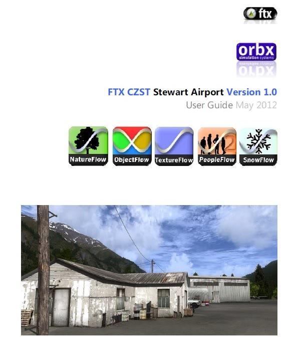 Orbx FTX CZST Stewart Airport 1.0 (Review de Rodrigo Sotto-Maior) Userguide