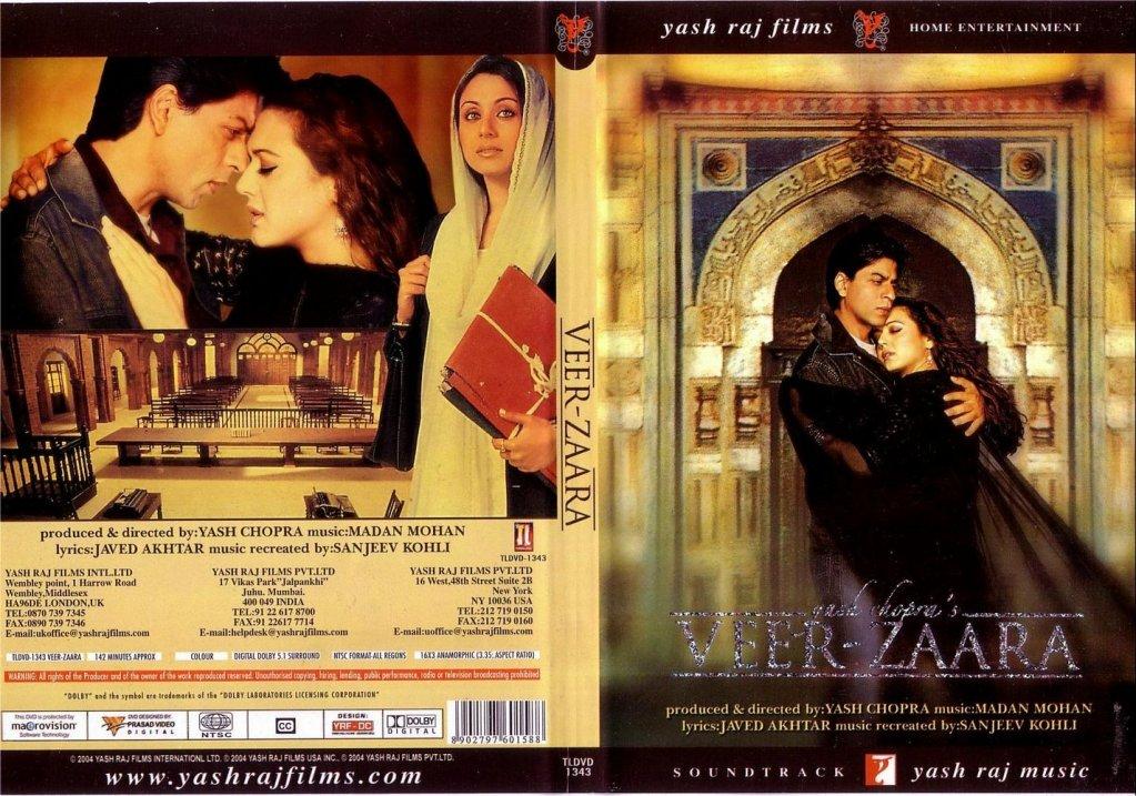 VEER  ZAARA (2.004) con SRK + Jukebox + Making of + Sub. Español Veer_Zaara_Uk-cdcovers_cc-front