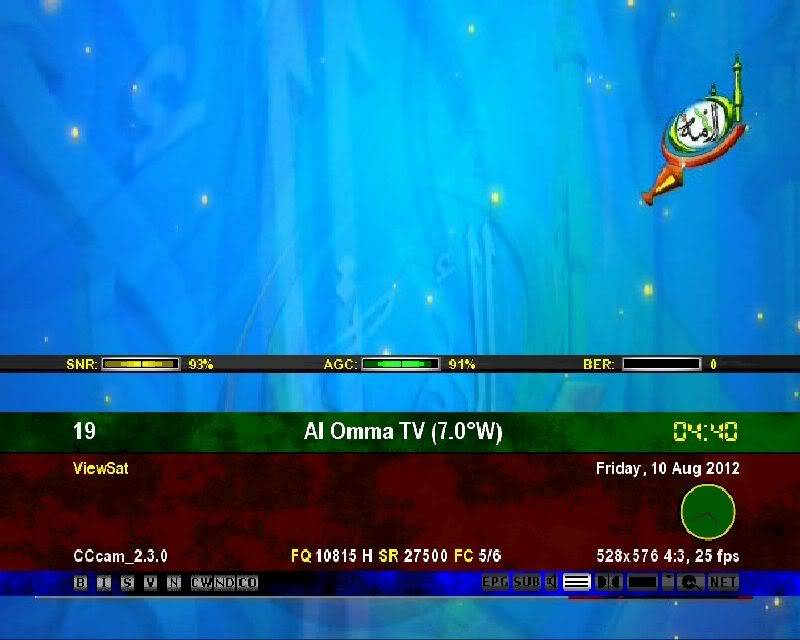 ترددات القنوات الاسلامية على مدار النايل سات B36da024