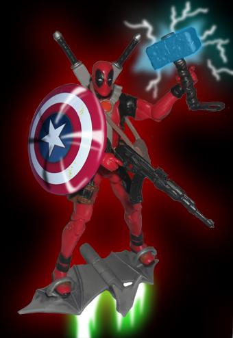 Deadpool, El mercernario jetón Deadpoolphoto