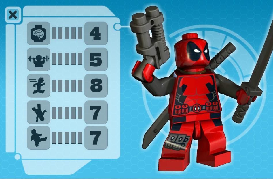 Deadpool, El mercernario jetón Legodeadpoolstats