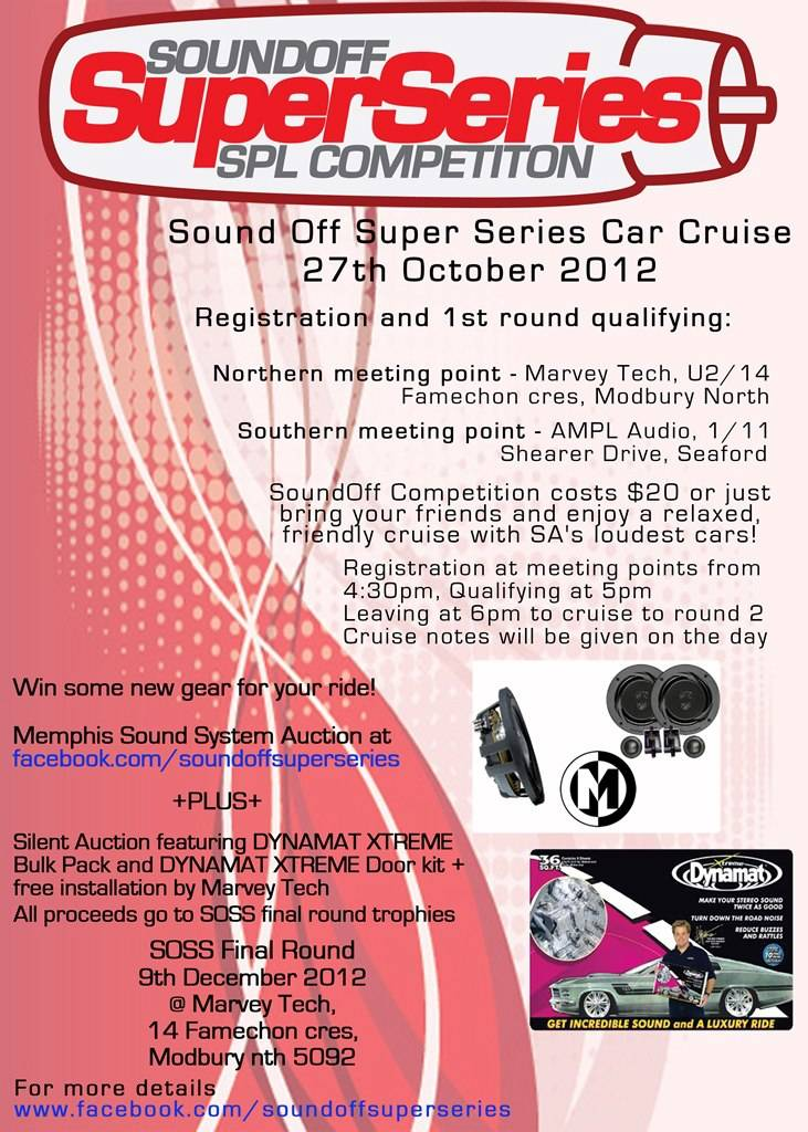 Sound Off Super Series Car Cruise 27th October 2012 Soss27