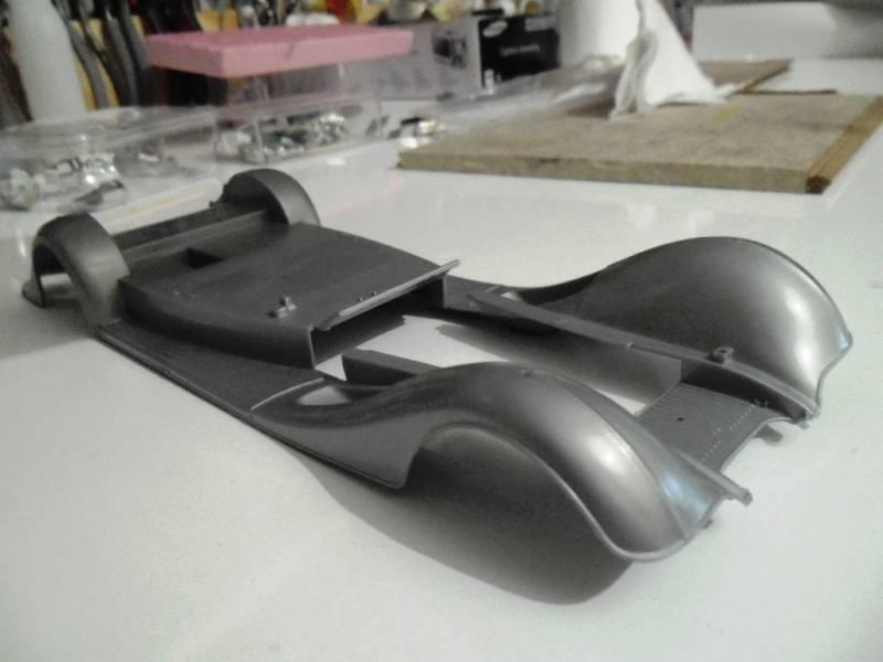 1955 Mercedes W196R - Hand Made / Italeri - 1/24 6_zps299b52c2