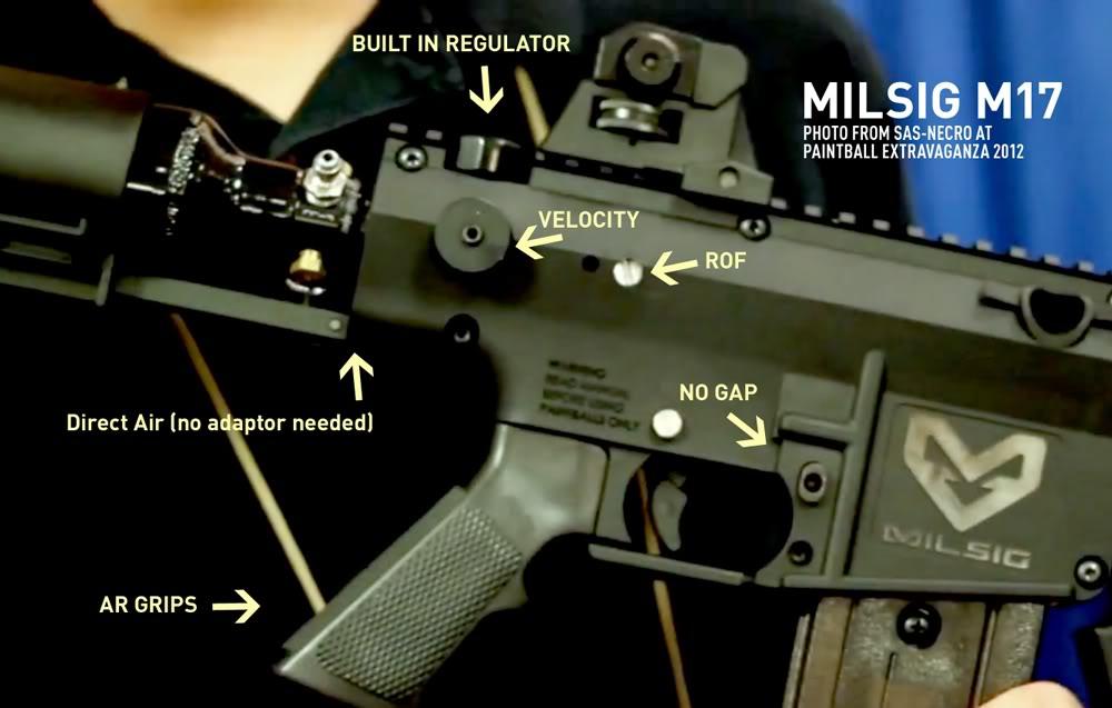 Conheça a nova Milsig M17 M17-1-SAS-NECRO