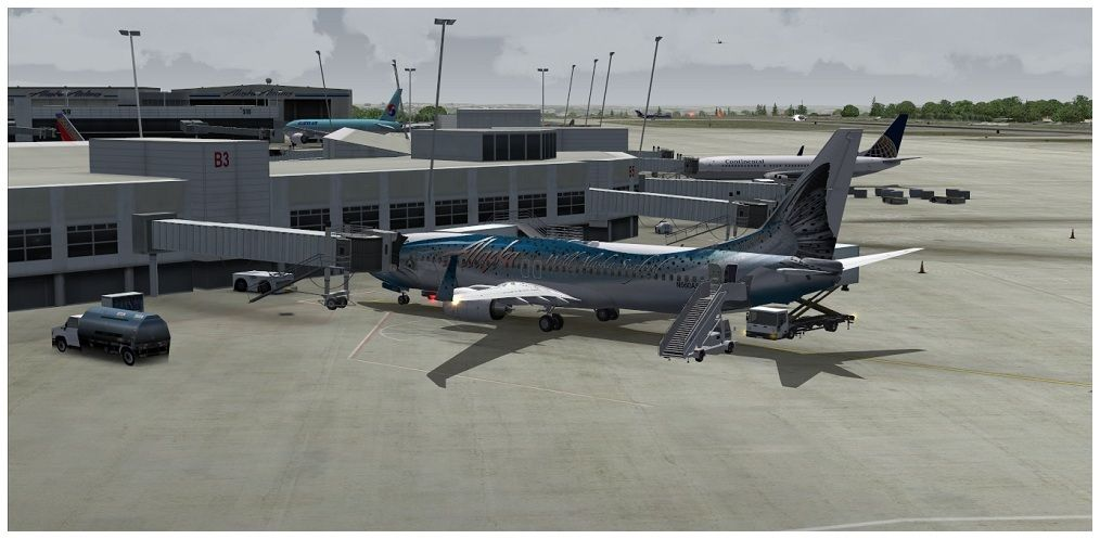 (KSEA) - Seattle / Alaska Air 00001