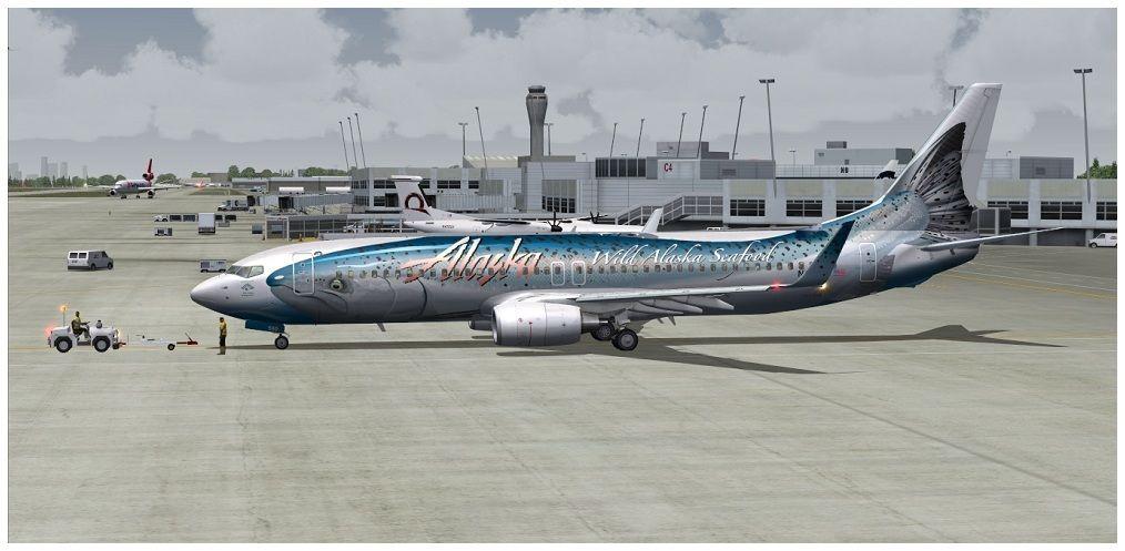 (KSEA) - Seattle / Alaska Air 00012-1