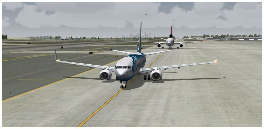 (KSEA) - Seattle / Alaska Air 00013-1