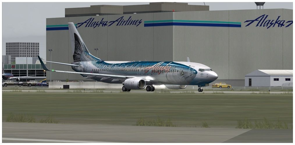 (KSEA) - Seattle / Alaska Air 00015