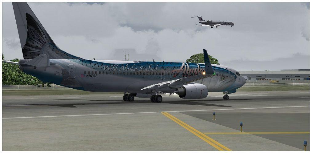 (KSEA) - Seattle / Alaska Air 00019
