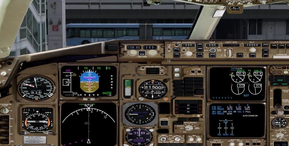 Level-D Boeing 767 - Painel 2D Widescreen  SemTtulo2