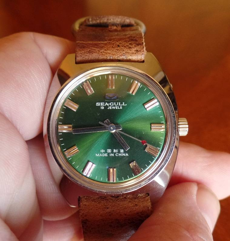 My Green-Dialed NOS Seagull ST5 + the Perfect Strap SAM_0547_zps304a809f