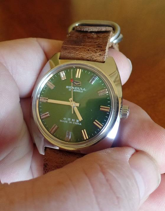My Green-Dialed NOS Seagull ST5 + the Perfect Strap SAM_0550_zps6102bce2