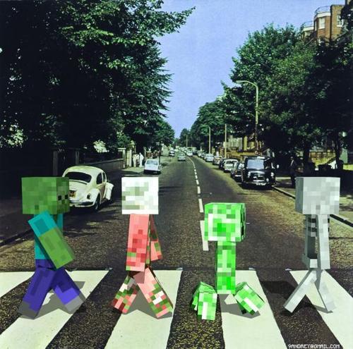 Imágenes graciosas de Minecraft Beatlesminecraft_zps6663ebd8