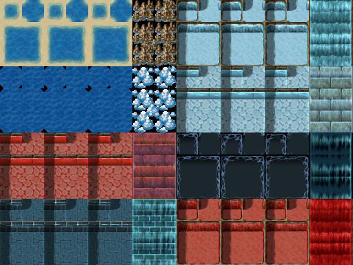 Tilesets A1 , A2 , A3 , A4 e A5 - Rpg Maker VX ACE 1TileA1