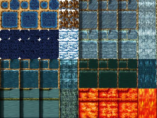 Tilesets A1 , A2 , A3 , A4 e A5 - Rpg Maker VX ACE TileA1