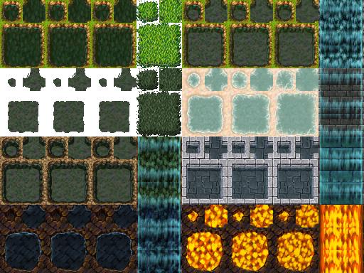 Tilesets A1 , A2 , A3 , A4 e A5 - Rpg Maker VX ACE Tilea12