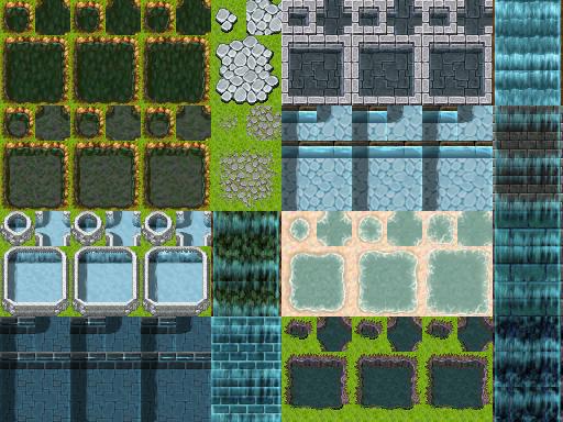 Tilesets A1 , A2 , A3 , A4 e A5 - Rpg Maker VX ACE Tilea1ss