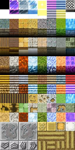 Tilesets A1 , A2 , A3 , A4 e A5 - Rpg Maker VX ACE X1NXK