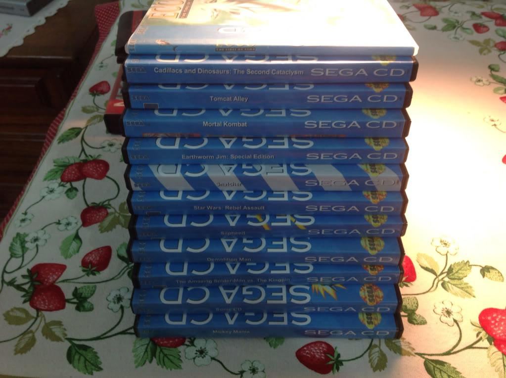 Vendo Sega CD com jogos 707dd660ea35427901213d259b00578a