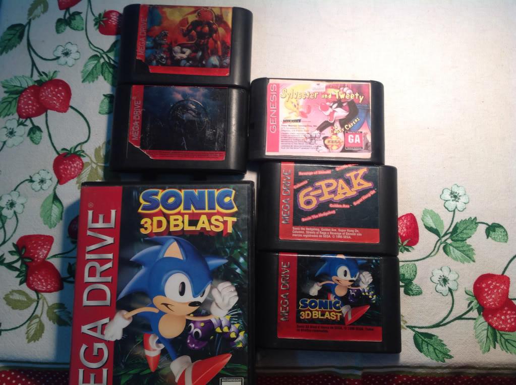 Vendo Sega CD com jogos B1e4ca514ea840cb1156d0b38103ca1a