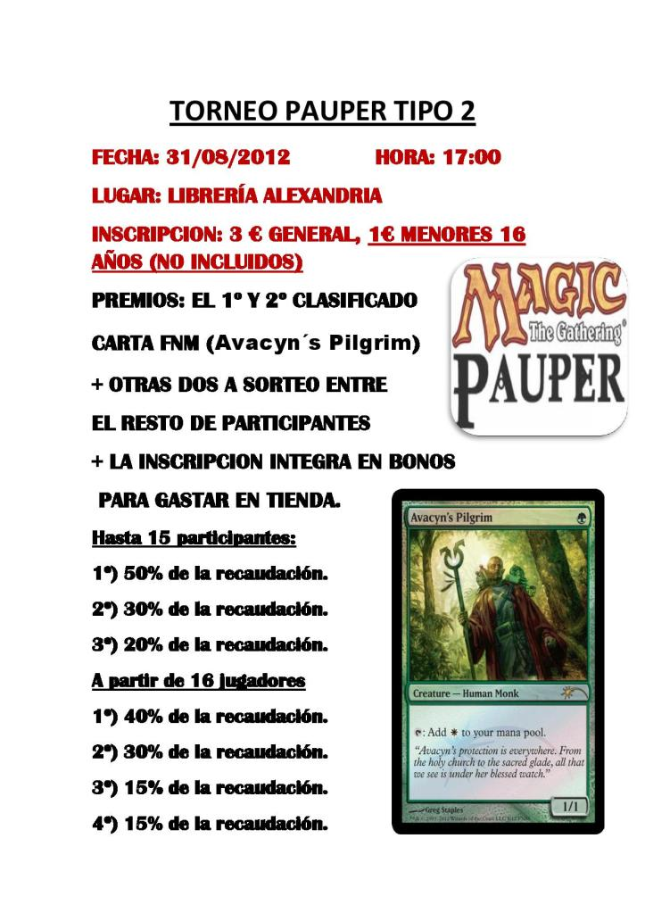 Torneo de Pauper Viernes 31 de Agosto Pauperavacyn31-page-001