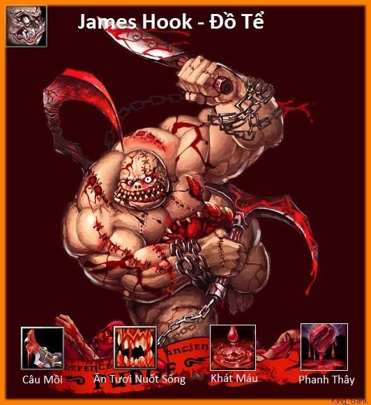 [Guide chọn lọc] Đồ Tể - James Hook 24