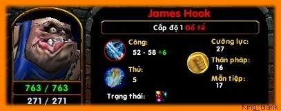 [Guide chọn lọc] Đồ Tể - James Hook Minlvl