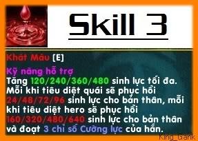 [Guide chọn lọc] Đồ Tể - James Hook Skill3