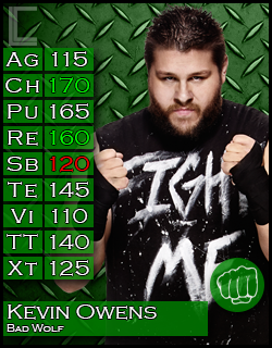 Extreme Rules Match: Sheamus vs Kevin Owens KevinOwens_zps27b5a1df