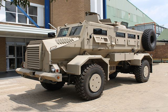 South African Armoured Vehicles MechemCasspir_2000_4x4_