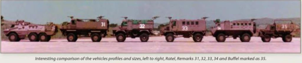 South African Armoured Vehicles Remarkvehiclesprofileside