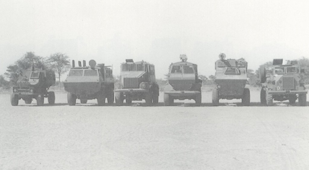 South African Armoured Vehicles EarlyMPVs