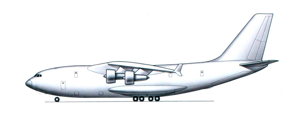 Il-106 Heavy military transport: News - Page 2 Il-106-side