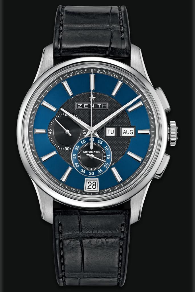 Choix de montre, Zenith el primero 36000 noir ou captain winsor bleu 7acf375820a9026cef531183d8570419