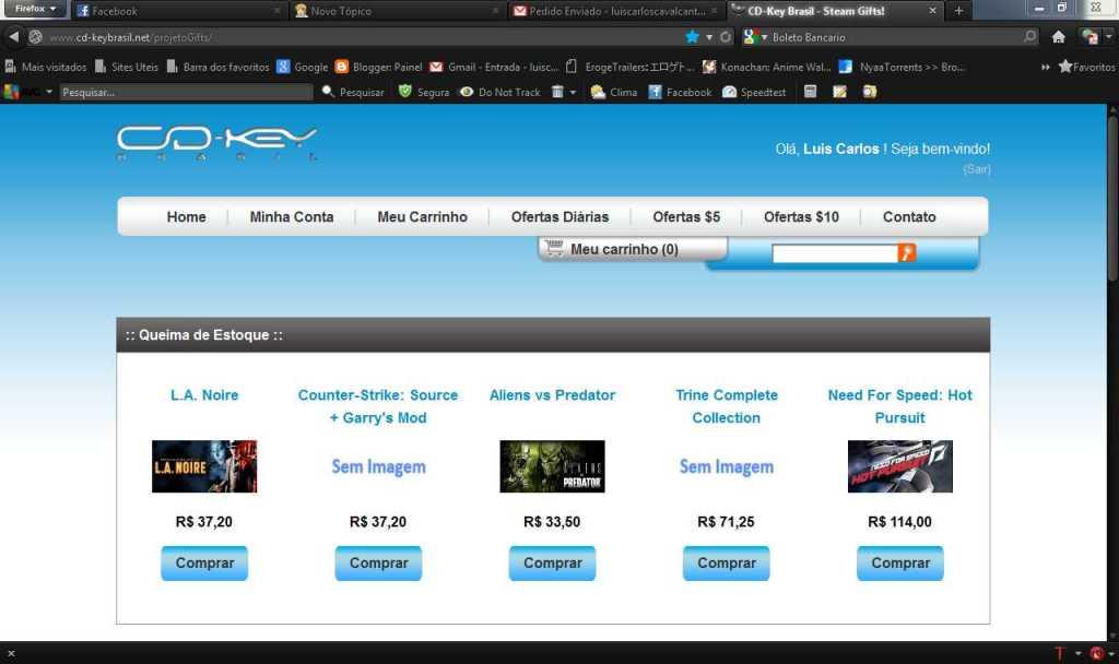 Como comprar games na Steam usando o Boleto Bancario Sfwfw009