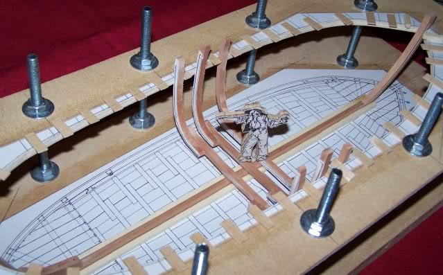 Le bateau de Lanvéoc 1/36 - modélisme d'arsenal,  100_5043