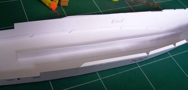 MCVD classe Kingston - maquette en papier - échelle 1:200 MCVD2