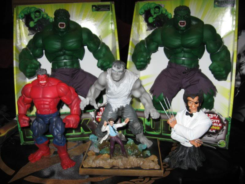 my collection 1/2 scale HULK has new pants, whats your opinion, better or worse?? - Page 2 Collection027