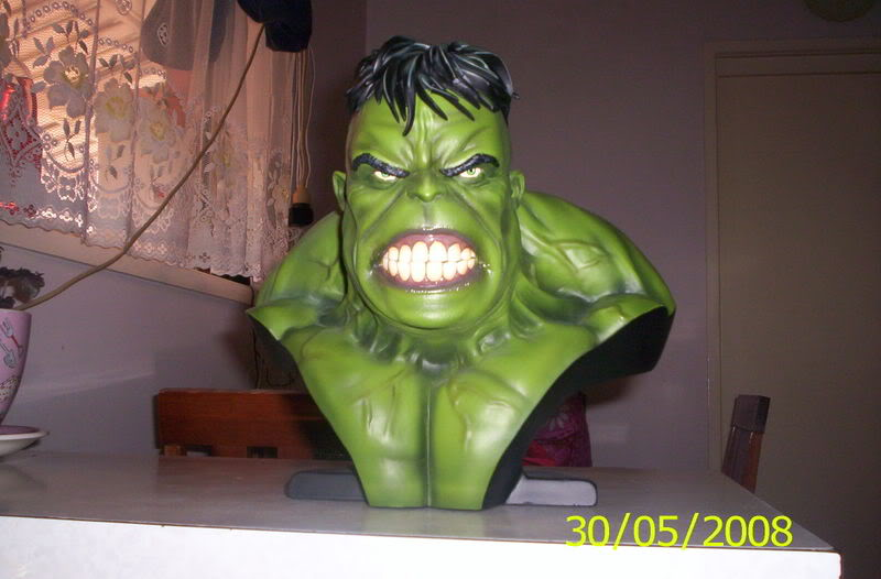 my collection 1/2 scale HULK has new pants, whats your opinion, better or worse?? Hulkbust