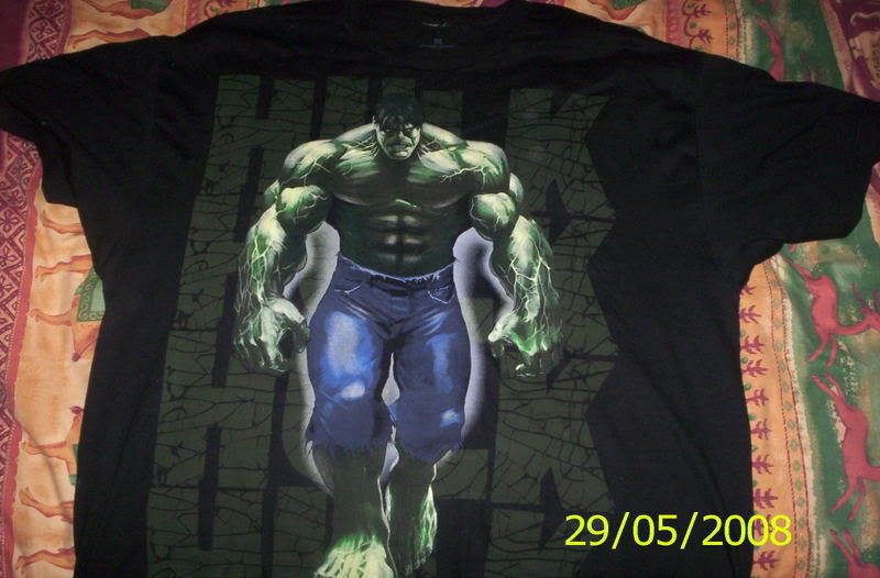 my collection 1/2 scale HULK has new pants, whats your opinion, better or worse?? Hulkpicsnew016