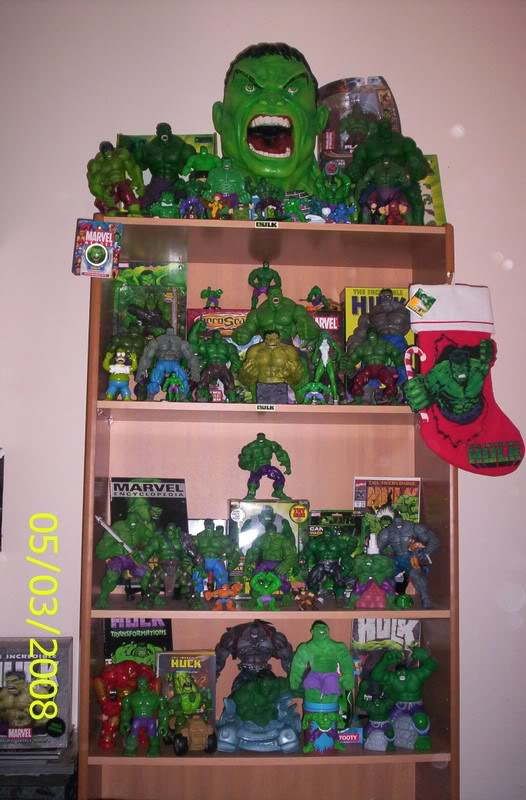my collection 1/2 scale HULK has new pants, whats your opinion, better or worse?? Newhulk006-1