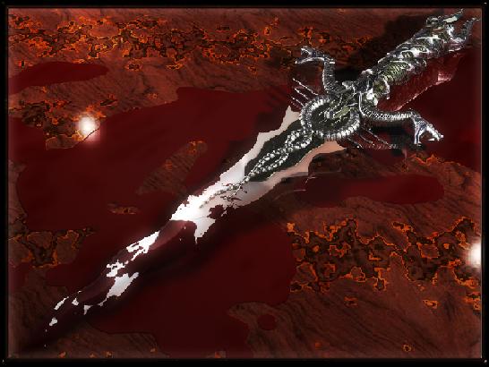 Ритуальный нож. Dagger